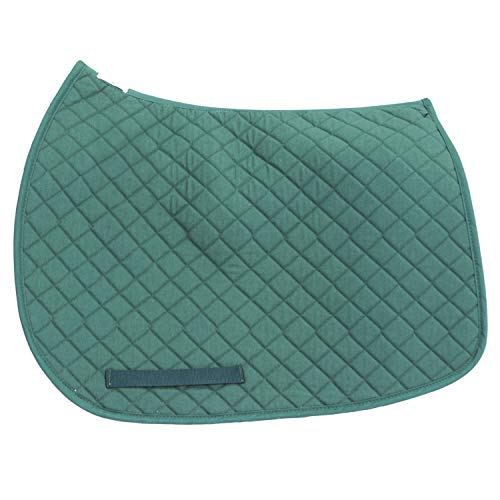 TuffRider Basic All Purpose Saddle Pad Hunter Green ()