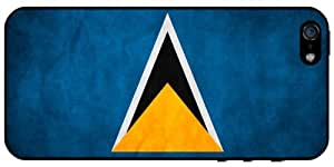 Saint Lucia Flag iPhone 5 - iPhone 5S Case 3102mss by icecream design
