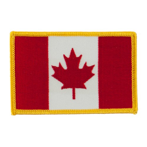 America Flag Embroidered Patches - Canada OSFM
