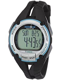 Timex T5K214 Women's Ironman Road Trainer Heart Rate Grey Digital Dial Watch