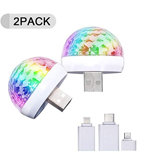 2PACK USB Mini Disco