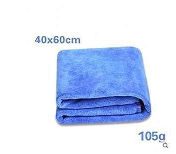 JISHUQICHEFUWU Toallas de Lavado Absorbente de Tela Gruesa Coche Toalla Coche Limpieza de Coches Lavado de Suministros, Azul, 40 * 60cm: Amazon.es: Coche y ...
