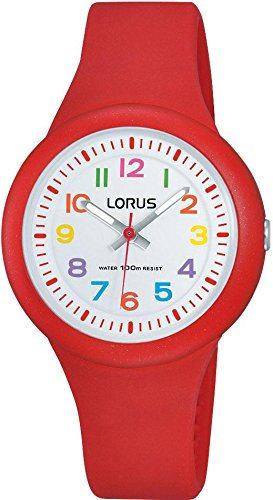 Lorus Kids by Seiko RRX53EX-9 Red Silicone Watch