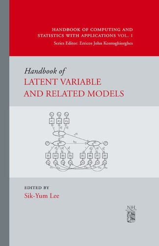 Download Handbook of Latent Variable and Related Models (Handbook of Computing and Statistics with Applications) Pdf