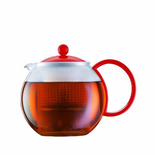 Bodum Assam Medium Tea Press, 1.0 l, 34 oz., Red