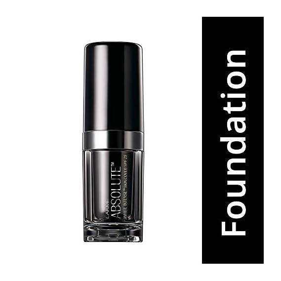 Lakme Absolute White Intense SPF 25 Skin Cover Foundation, Golden Light 04, 15ml