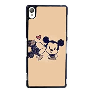 Sony Xperia Z3 Cell Phone Case Black Minnie Mouse YT3RN2581335