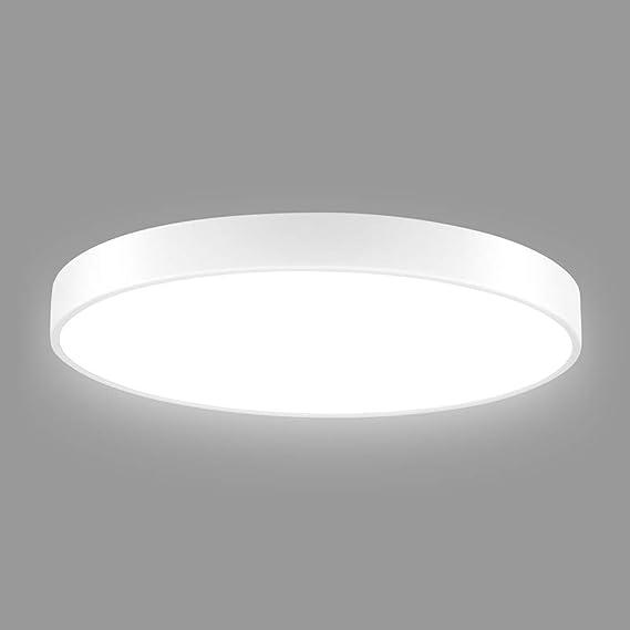 Led Deckenleuchte Badezimmer, 28W Ultraslim Dimmbar LED Deckenlampe ...