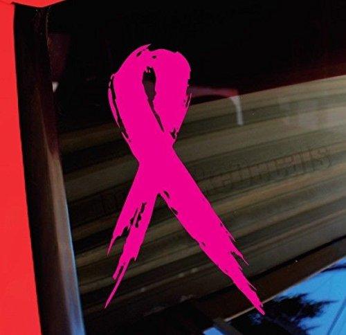 Breast Cancer Pink Ribbon Vinyl Decal Sticker 100% -