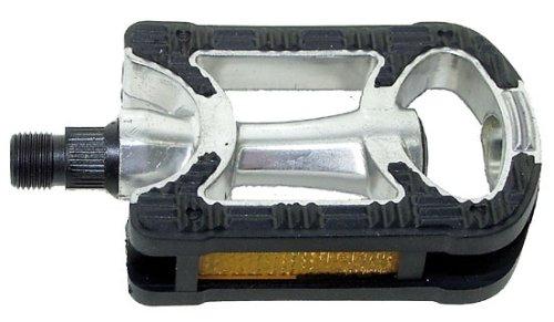 VP Comp Pedal Anti-Rutschpedal (ein Paar), silber/ schwarz