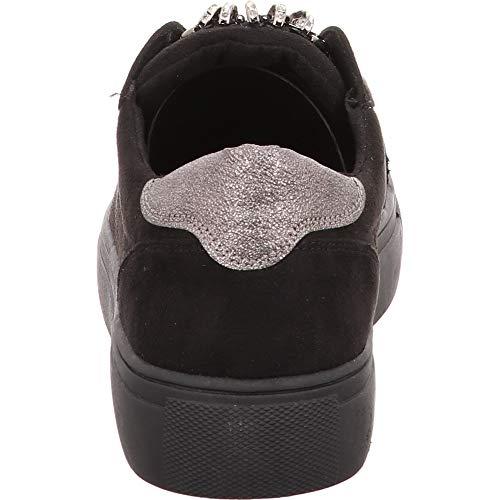 Sneaker Donna Donna Nero Donna Supremo Supremo Nero Supremo Nero Sneaker Sneaker rx4xXw