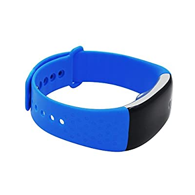Bluetooth Smart Watch Bracelet, Waterproof Sports Tracker Heart Rate Monitor Tracker Wireless Activity Fitness Silicone Wristband with Sleep Calorie Counter Pedometer Monitoring