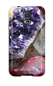 Faddish Phone Crystals Quartz Minerals Rocks Geology Nature Other Case HTC One M8 / Perfect Case Cover
