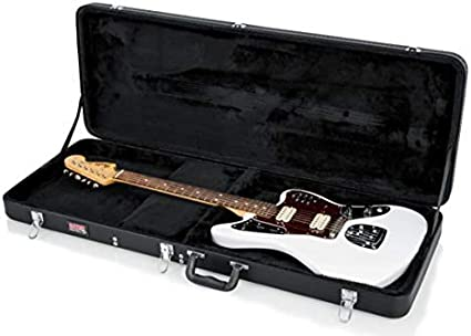 ESTUCHE GUITARRA ELECTRICA RECTANGULAR MADERA: Amazon.es: Instrumentos musicales