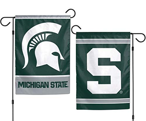 NCAA Michigan State Spartans 12 x 18 inch 2-Sided Garden Fla