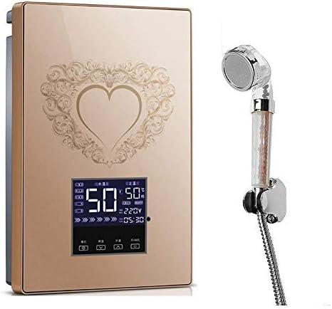 1yess Smart Chip Sofortiger elektrischer Durchlauferhitzer, Intelligent konstante Temperatur, Wasserdicht Stromspar Sicherheit, Wasser Isolation