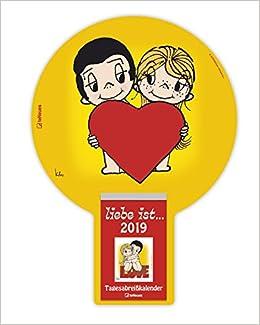 Liebe Ist 2019 Tagesabreisskalender 2019 Liebe Ist Kalender