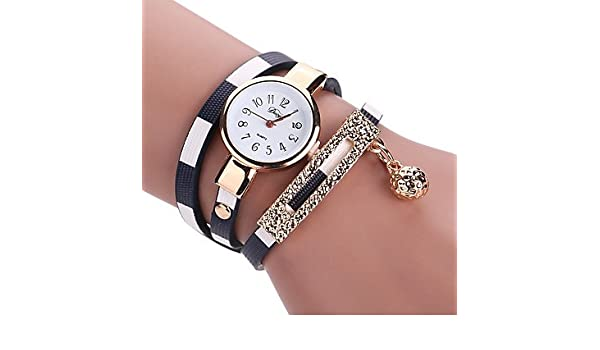 Amazon.com : Mens Watches Relojes Mujer 2016 Clock Watches Women Bracelet Wrist Watches for Women Ladies Watch Leather Watch Strap Montre Femme Womens ...