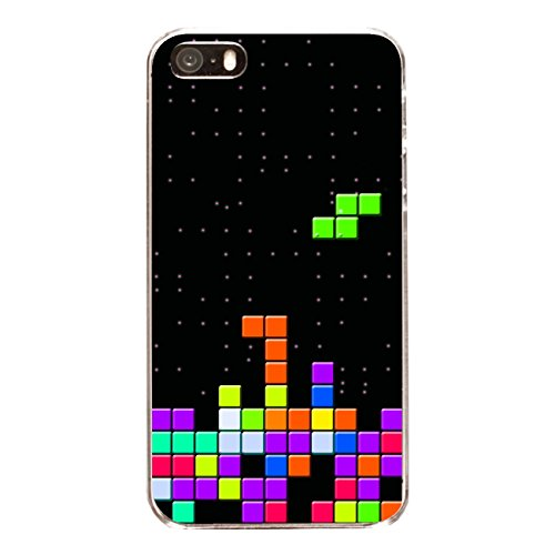 "Disagu Design Case Coque pour Apple iPhone 5 Housse etui coque pochette ""Tetris No. 2"""