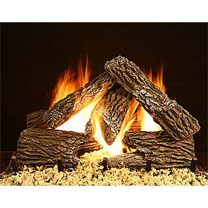Bevengo GF-SO-24 24 Inch Split Oak Home Hearth Gas Logs