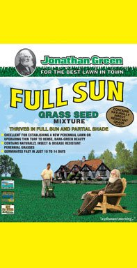 Jonathan Green 10880 Full Sun Grass Seed Mix, 7 Pounds