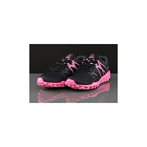 Reebok Da Donna Black coal Scarpe Realflex solarpink 4 Running 0 Train ZxPr1Z7