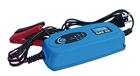 Güde Gab 5A Azul - Cargador (120000 mAh, 12 V, 500 g, Azul ...