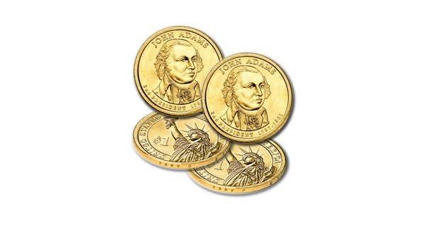 2007 D George Washington Presidential Golden Dollar BU Uncirculated $1 Mint!