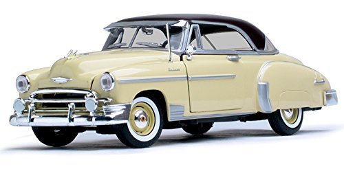 Motor Max 73111TC-LTYL 1:18 Timeless Classics-1950 Chevrolet Bel Air Die Cast Vehicle, Light (1950 Chevrolet Bel Air Vehicle)