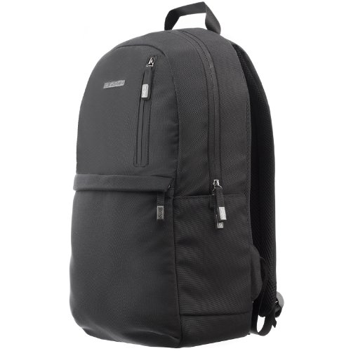 Runetz - BLACK Backpack / Daypack Bag for School and College