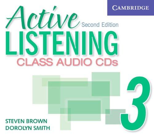 Active Listening 3 Class Audio CDs