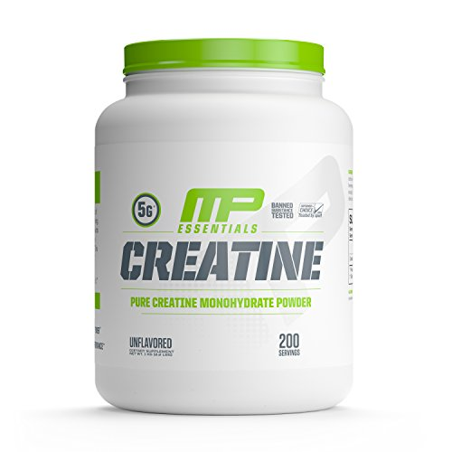 MP Essentials Micronized Creatine, Ultra-Pure 100% Creatine Monohydrate Powder, Muscle-Building, Protein Creatine Powder, Creatine Monohydrate Powder, 1000 g, 200 Servings
