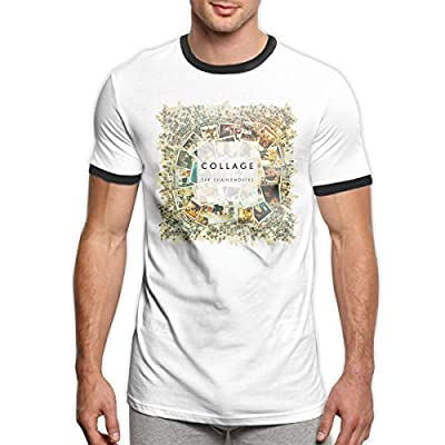Kangtians Men's Chainsmokers Shirts Tee Summer Cotton Short Sleeves Tee
