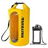 KastKing Floating Waterproof Dry Bag 10L/20L/30L Roll Top Sack Keeps Gear Dry