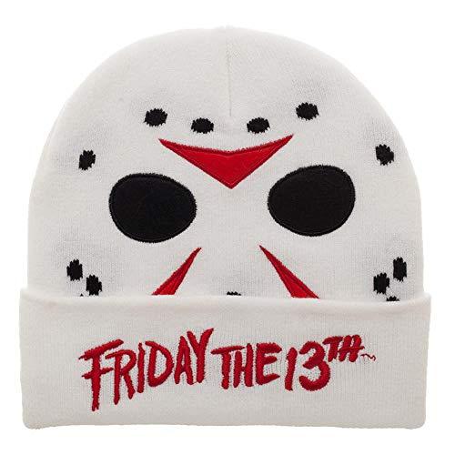 Jason Mask Friday The 13th Knit Cap