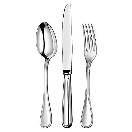 """Christofle """"Fidelio"""" de plata de 48 tlg. Menú de cubiertos con estuche"""