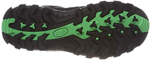 Women's ice Hiking Rigel Graffitte Low 64bn Rise Azzurro Asphalt Mint Boots CMP Grey 6dpvwp