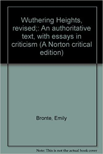 The Yellow Wallpaper Analysis Essay Wuthering Heights Revised An Authoritative Text With Essays In Criticism  A Norton Critical Edition Emily Bronte  Amazoncom Books Essay On Terrorism In English also Marriage Essay Papers Wuthering Heights Revised An Authoritative Text With Essays In  High School Dropout Essay