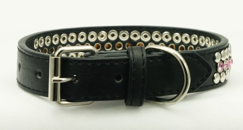 Hip Doggie HD-4PWC-L Hip Doggie Pink Winston Collar, Size L