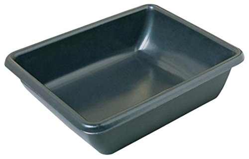 MACCOURT PRODUCTS TV245969 26x20x6 Plastic Utility Tub (Cement Mixing)