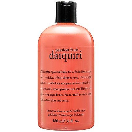 Philosophy Passion Fruit Daiquiri Shampoo, Shower Gel & Bubble Bath 16 Oz.