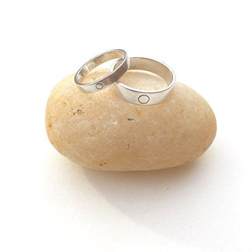 Matching 14kt White Gold Eternity Wedding bands