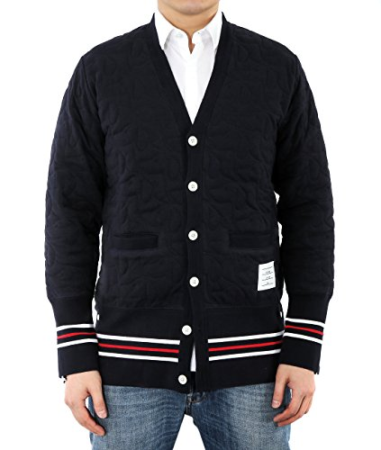 wiberlux-thom-browne-mens-quilted-v-neck-cardigan-2-navy