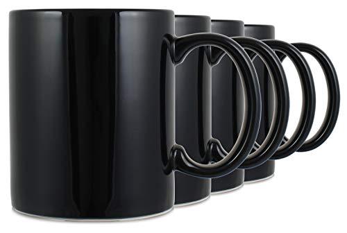 coffee cup set black - 9