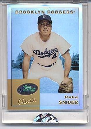 Amazoncom 2002 Etopps Classic 19 Duke Snider Mlb Baseball