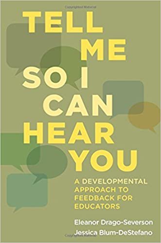 Tell Me So I Can Hear You: A Developmental Approach to