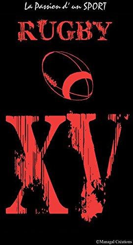 Serviette De Bain Rugby.Mctissus Serviette De Plage Rugby La Passion D Un Sport