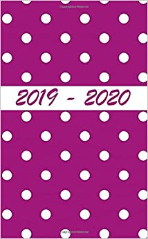 2019 - 2020: Two Year Pocket Monthly Planner : 24-month Calendar And Planner( Size : 4.0