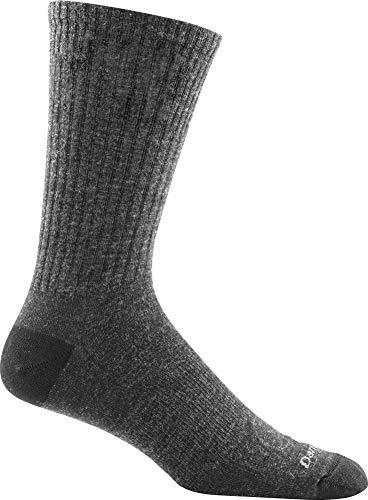 Darn Tough Standard Issue Mid-Calf Light Socks, Charcoal,Medium