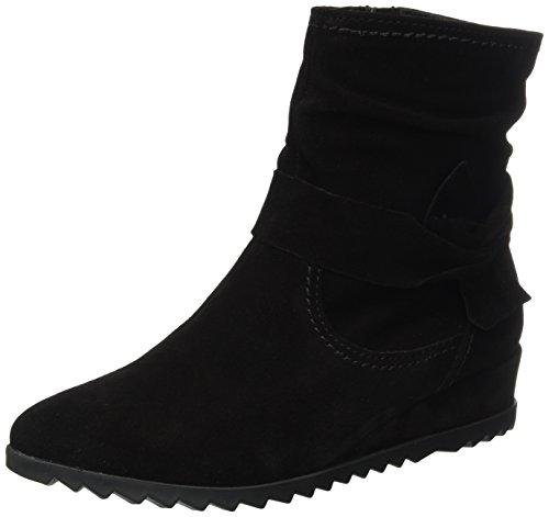 001 Tamaris Schwarz Botas Negro Negro mujer 25006 para YxvxRqd8